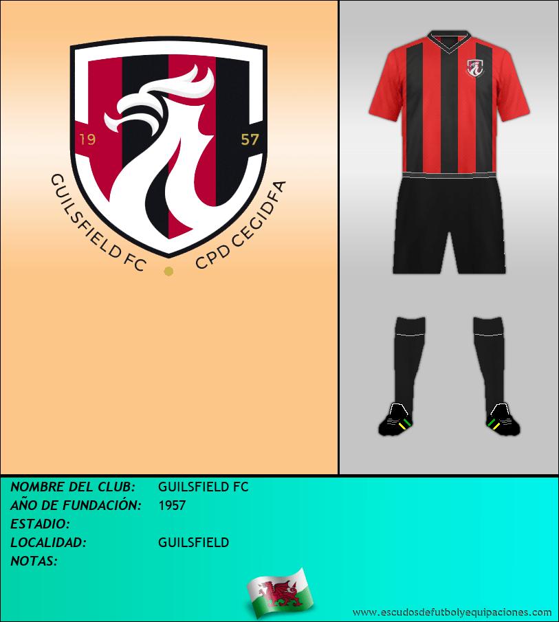 Escudo de GUILSFIELD FC