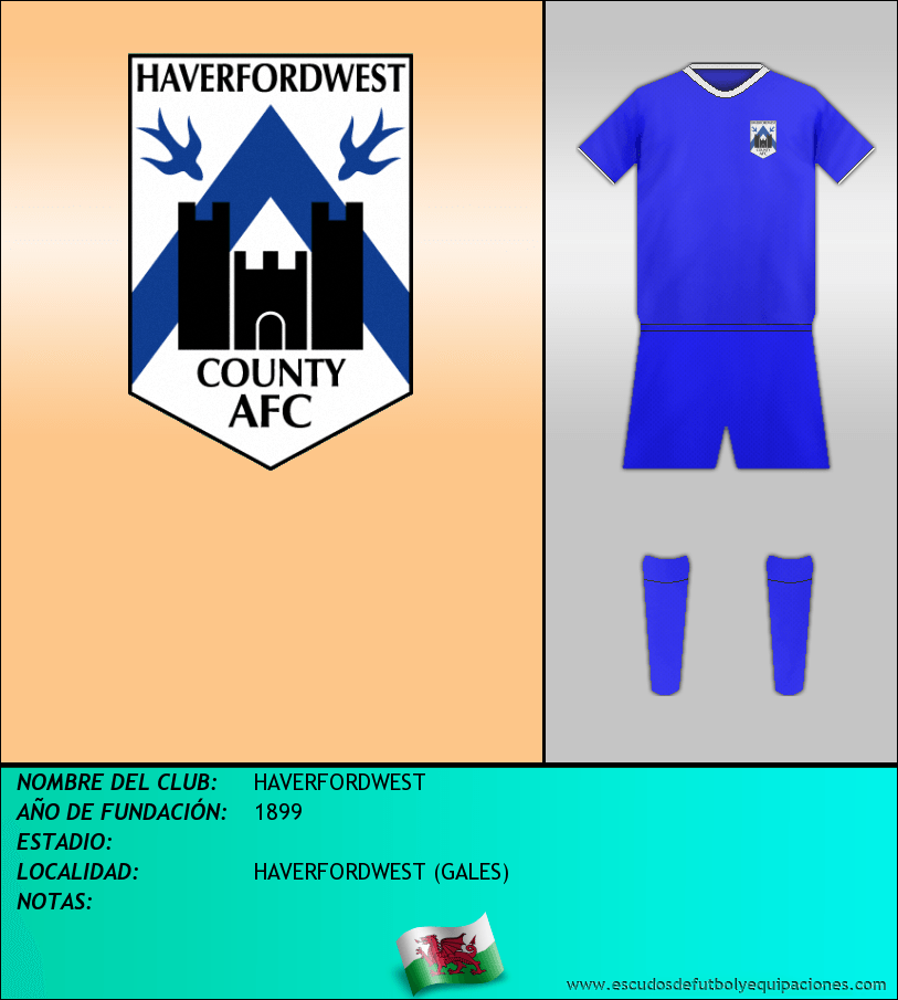 Escudo de HAVERFORDWEST
