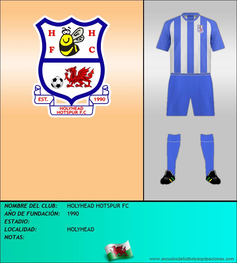 Escudo de HOLYHEAD HOTSPUR FC
