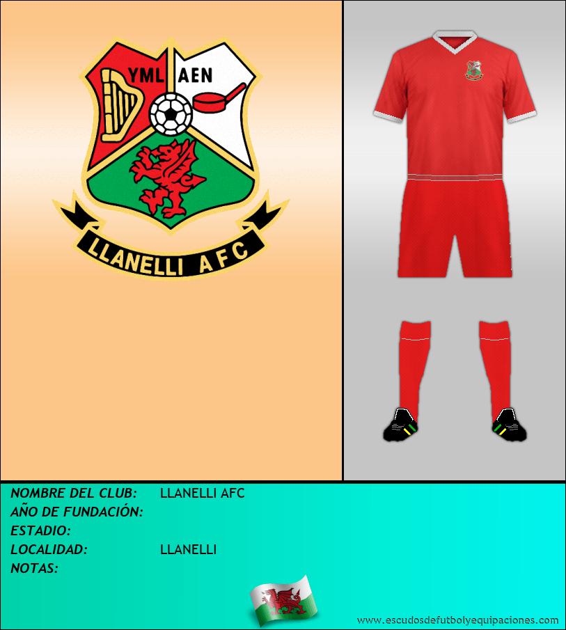 Escudo de LLANELLI AFC