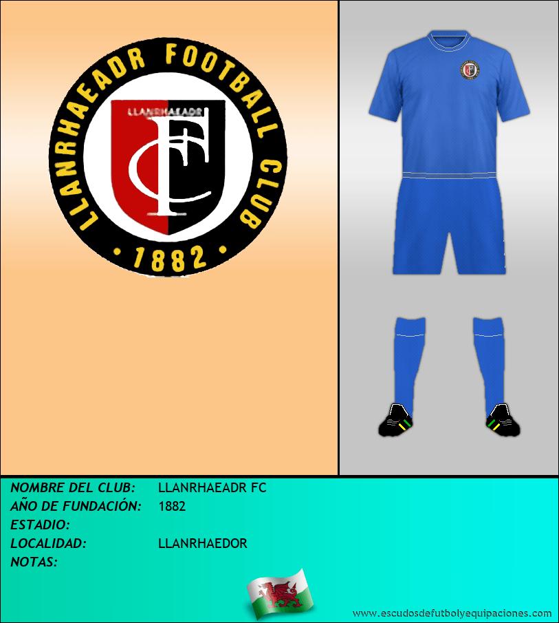 Escudo de LLANRHAEADR FC