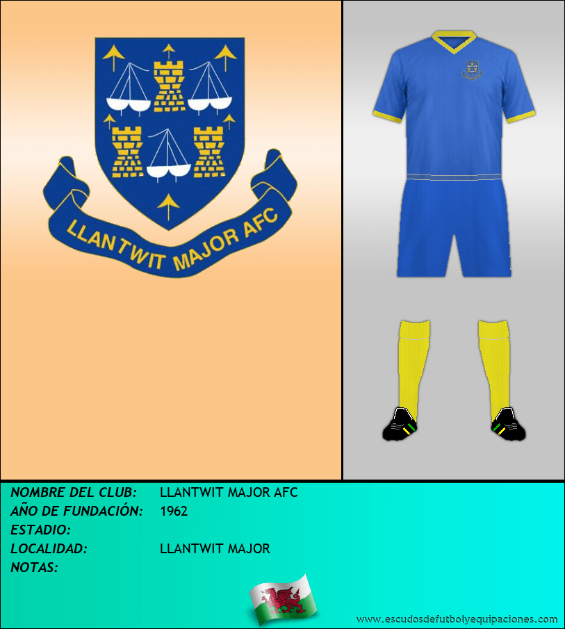Escudo de LLANTWIT MAJOR AFC