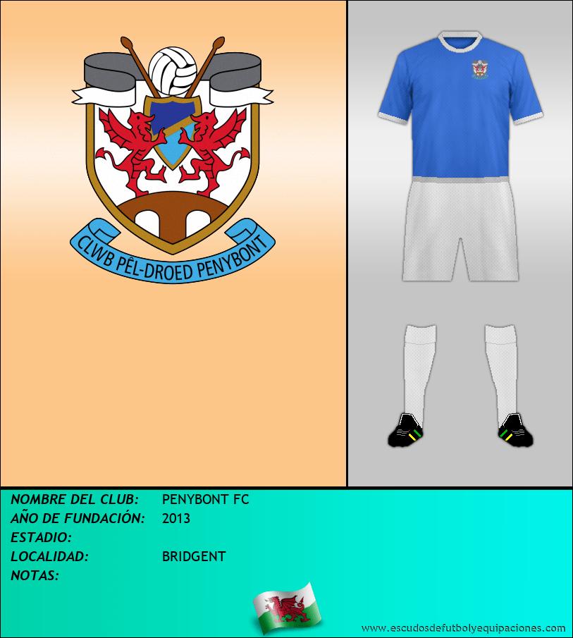 Escudo de PENYBONT FC