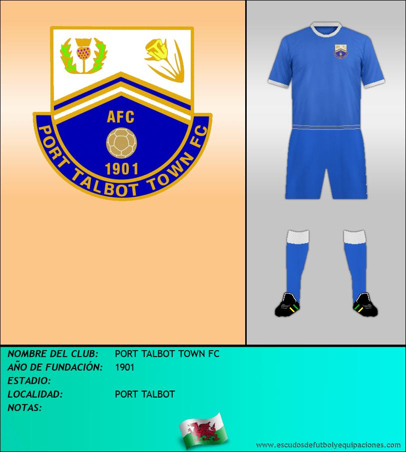 Escudo de PORT TALBOT TOWN FC