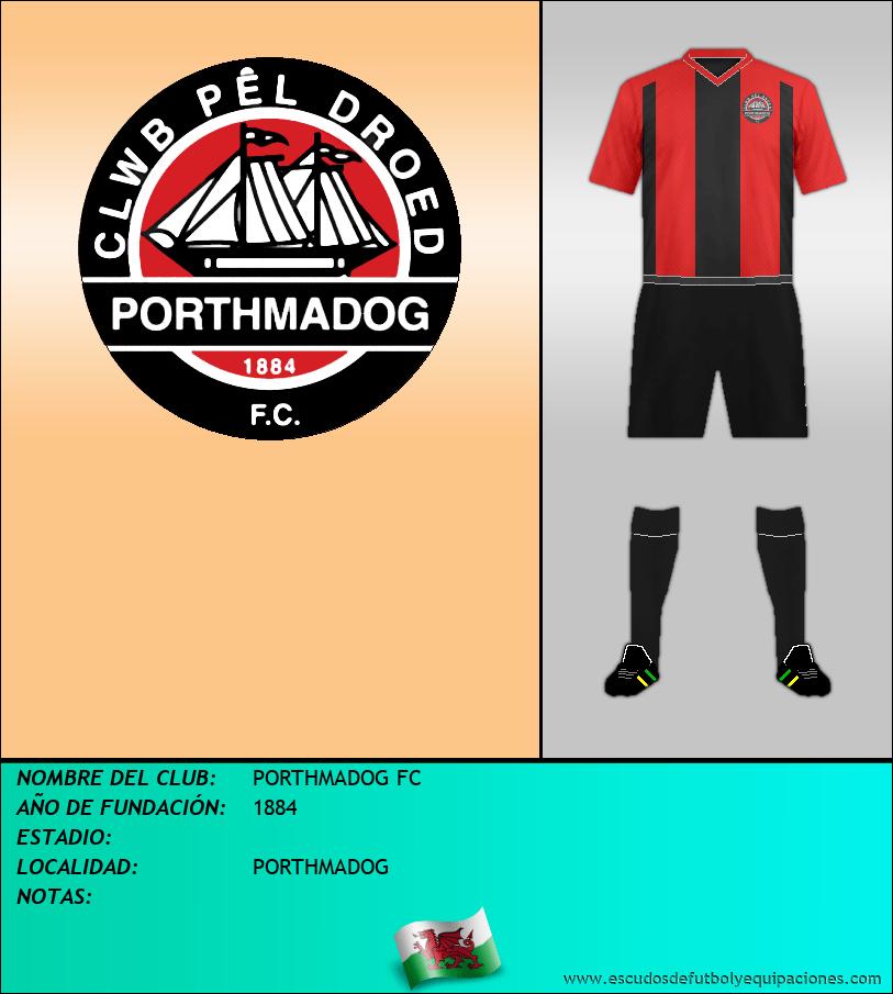 Escudo de PORTHMADOG FC