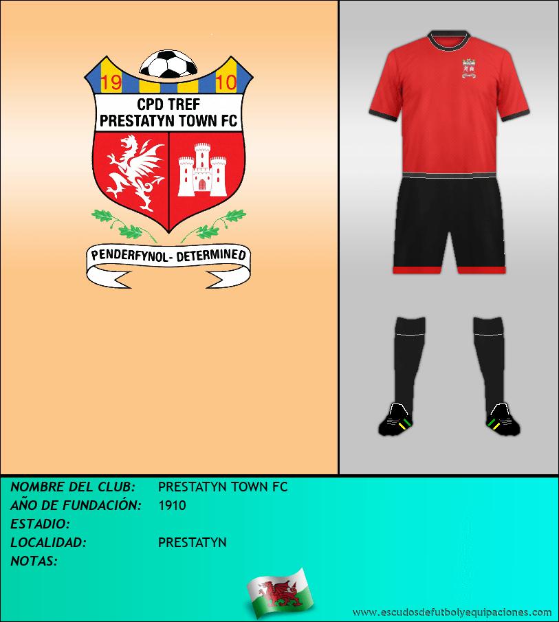 Escudo de PRESTATYN TOWN FC
