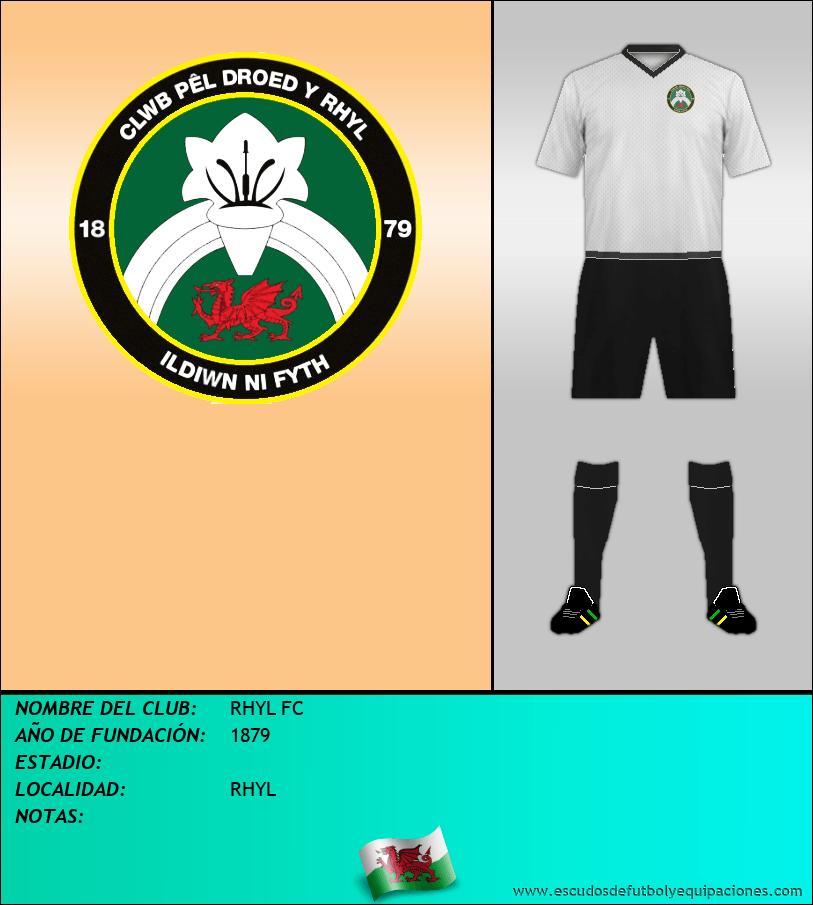 Escudo de RHYL FC