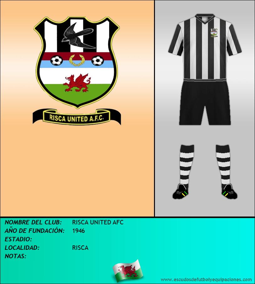 Escudo de RISCA UNITED AFC