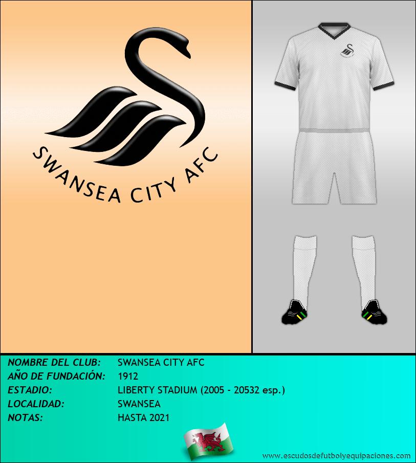 Escudo de SWANSEA CITY AFC