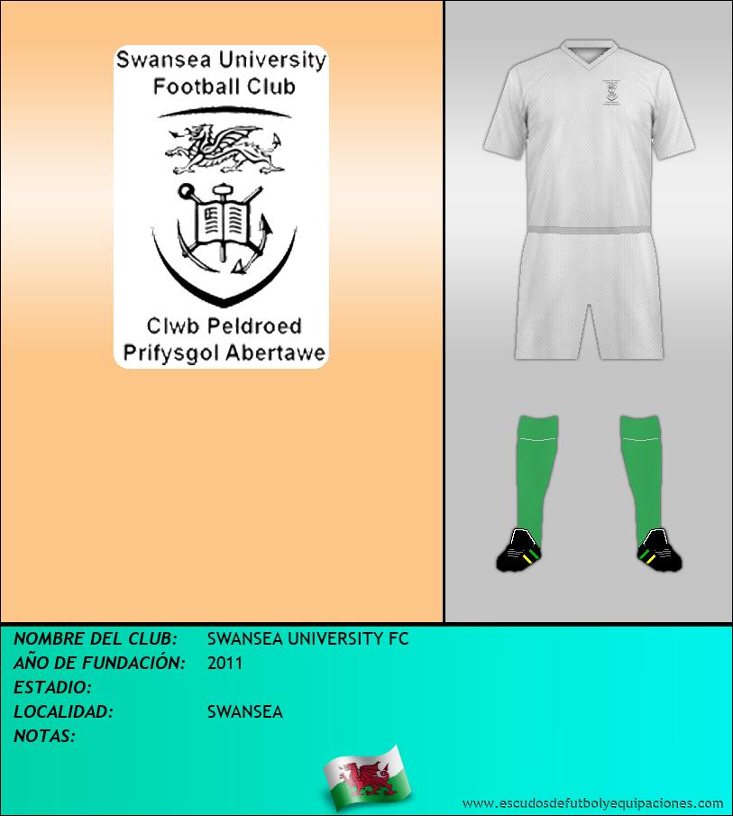 Escudo de SWANSEA UNIVERSITY FC