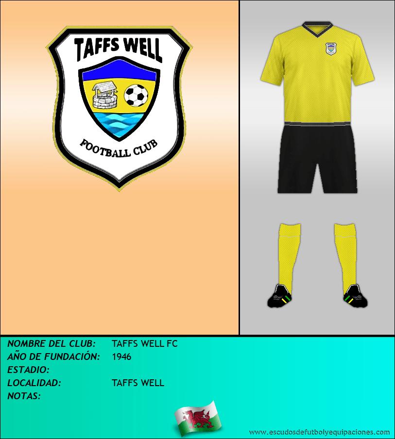 Escudo de TAFFS WELL FC