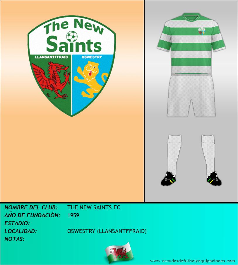 Escudo de THE NEW SAINTS FC