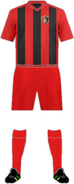 Equipación FC ARAGVI DUSHETI