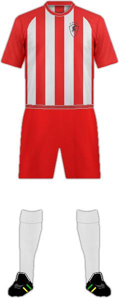 Equipación FC MERANI