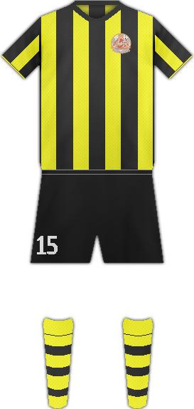 Equipación FC SPARTAKI TSKHINVALI