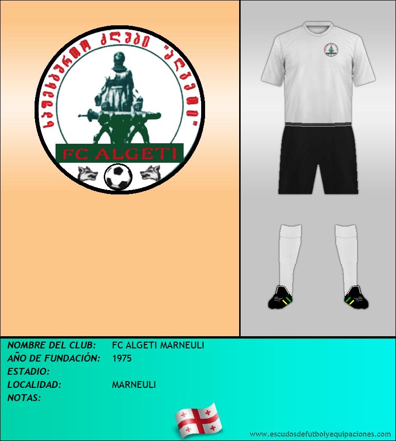 Escudo de FC ALGETI MARNEULI