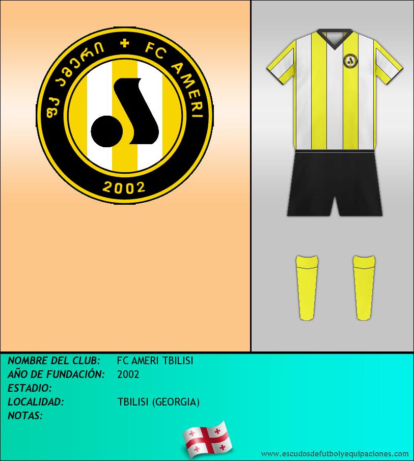 Escudo de FC AMERI TBILISI