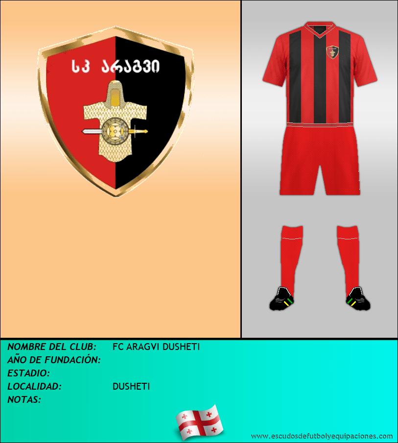 Escudo de FC ARAGVI DUSHETI