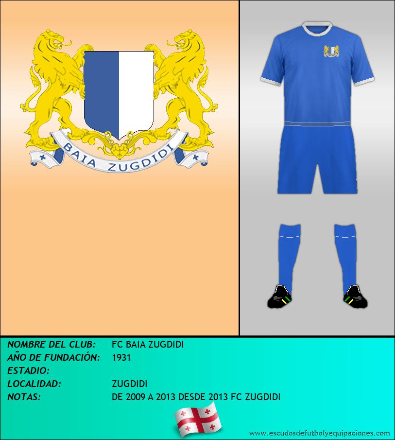 Escudo de FC BAIA ZUGDIDI