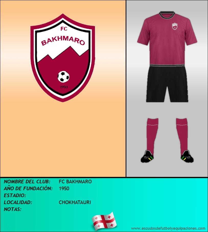 Escudo de FC BAKHMARO