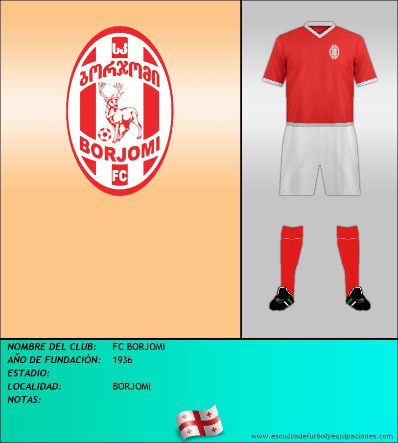 Escudo de FC BORJOMI