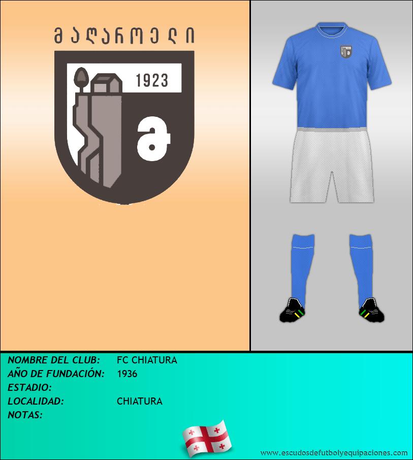Escudo de FC CHIATURA