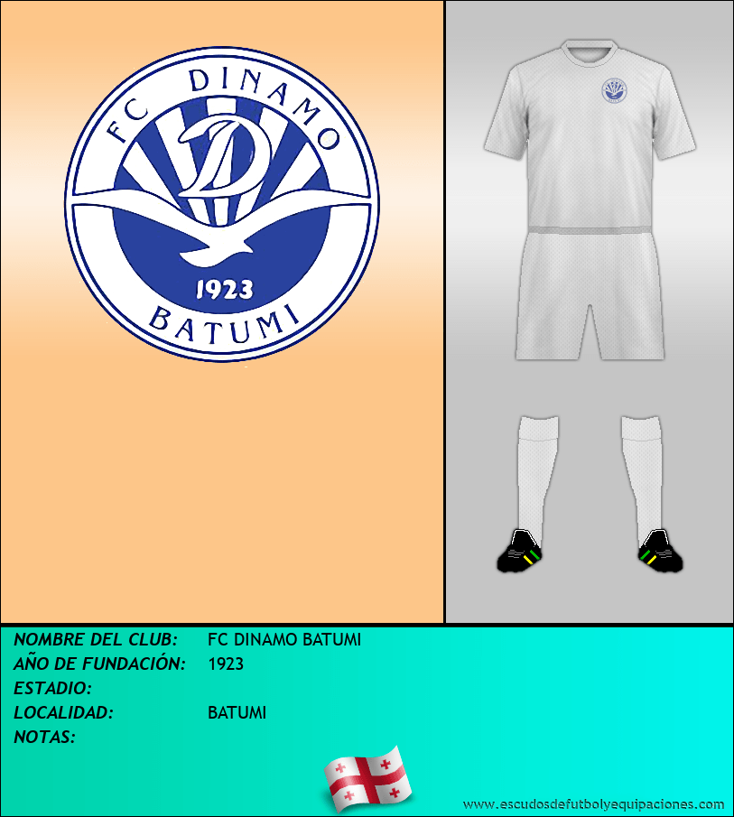 Escudo de FC DINAMO BATUMI