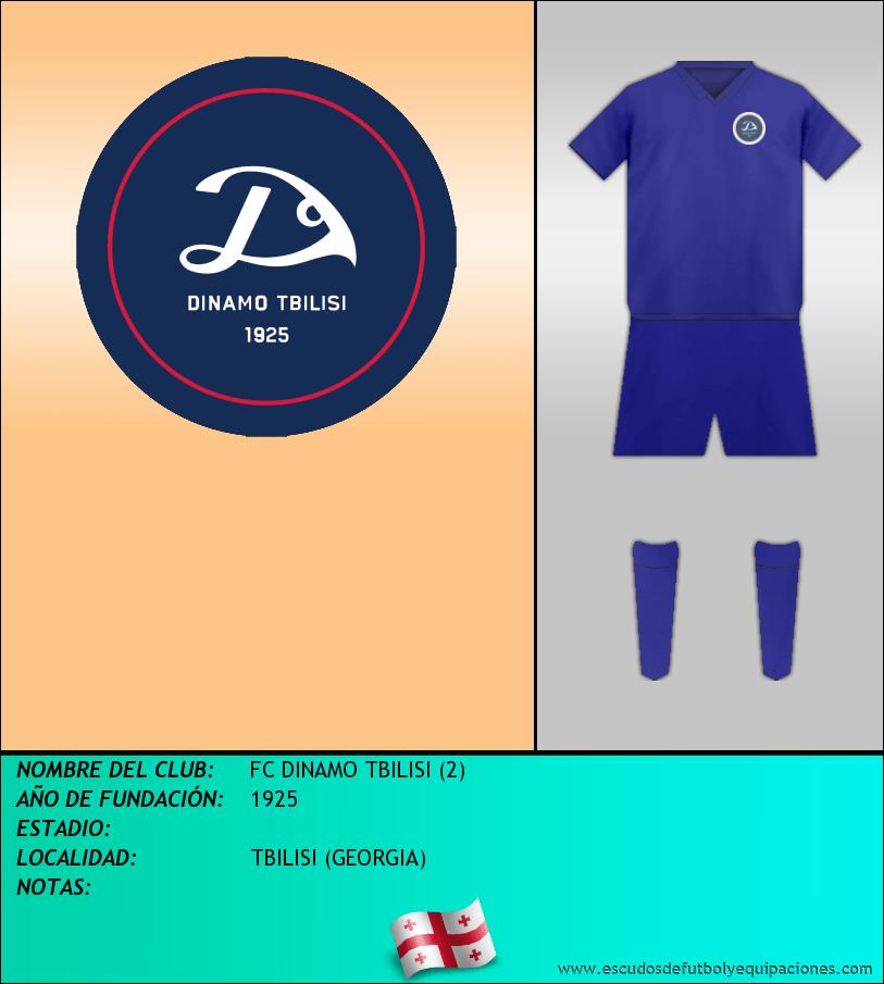 Escudo de FC DINAMO TBILISI (2)