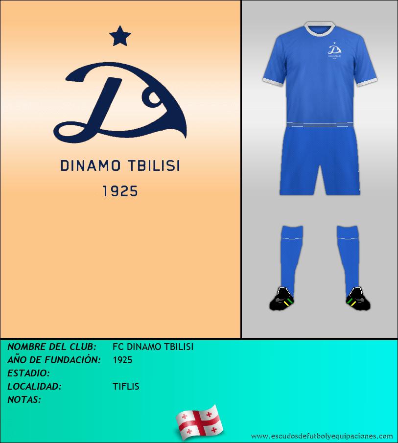 Escudo de FC DINAMO TBILISI