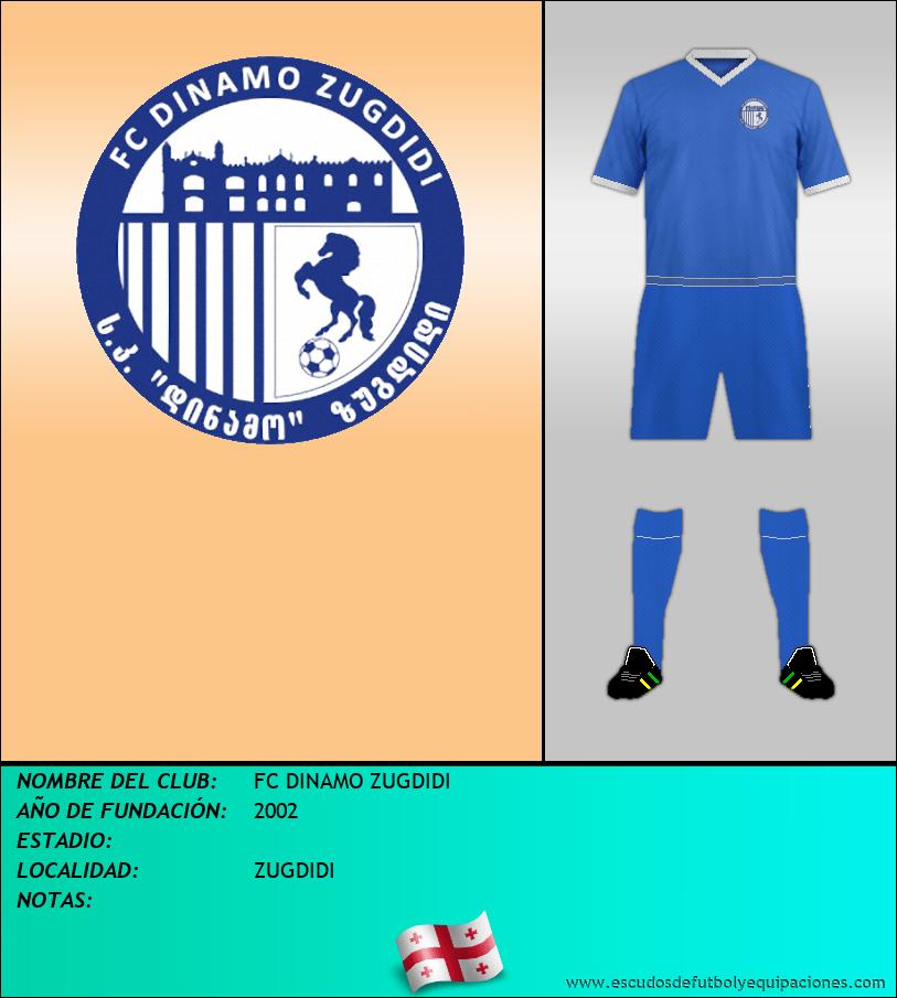 Escudo de FC DINAMO ZUGDIDI