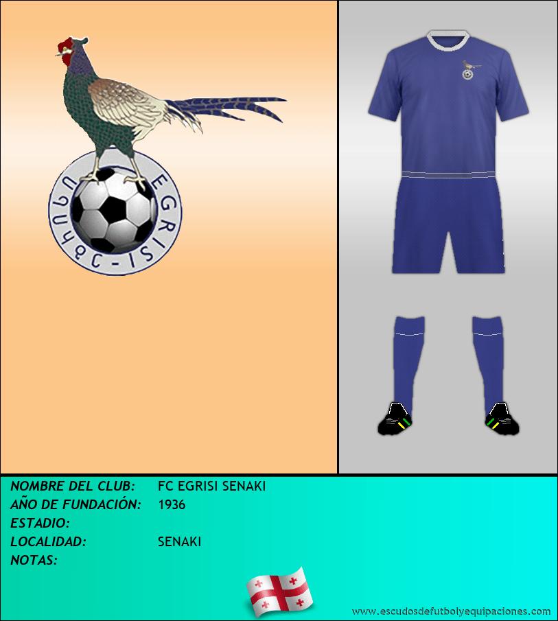 Escudo de FC EGRISI SENAKI