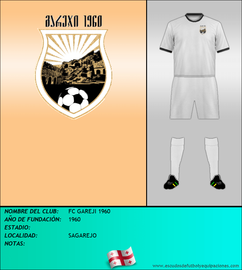 Escudo de FC GAREJI 1960
