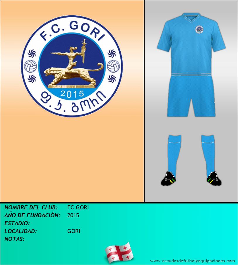 Escudo de FC GORI