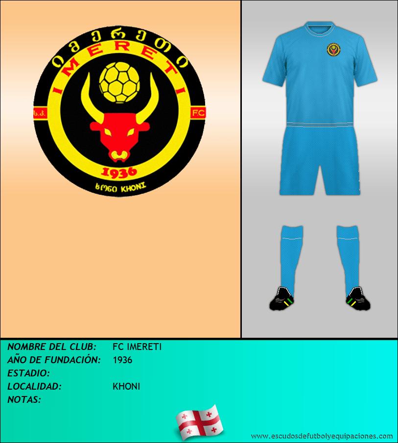 Escudo de FC IMERETI