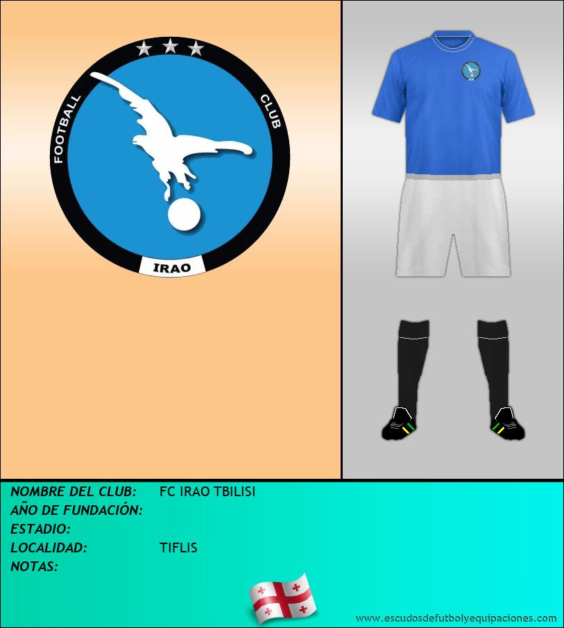 Escudo de FC IRAO TBILISI