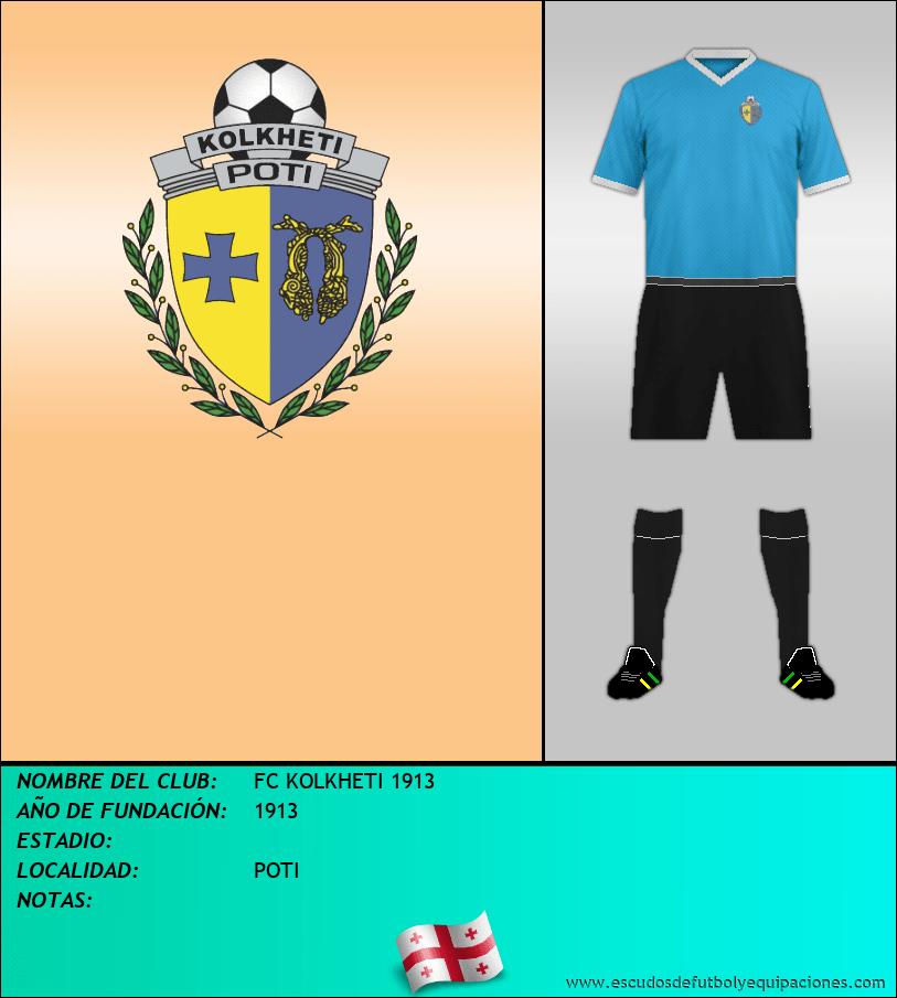 Escudo de FC KOLKHETI 1913