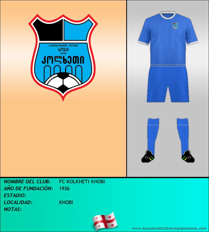 Escudo de FC KOLKHETI KHOBI