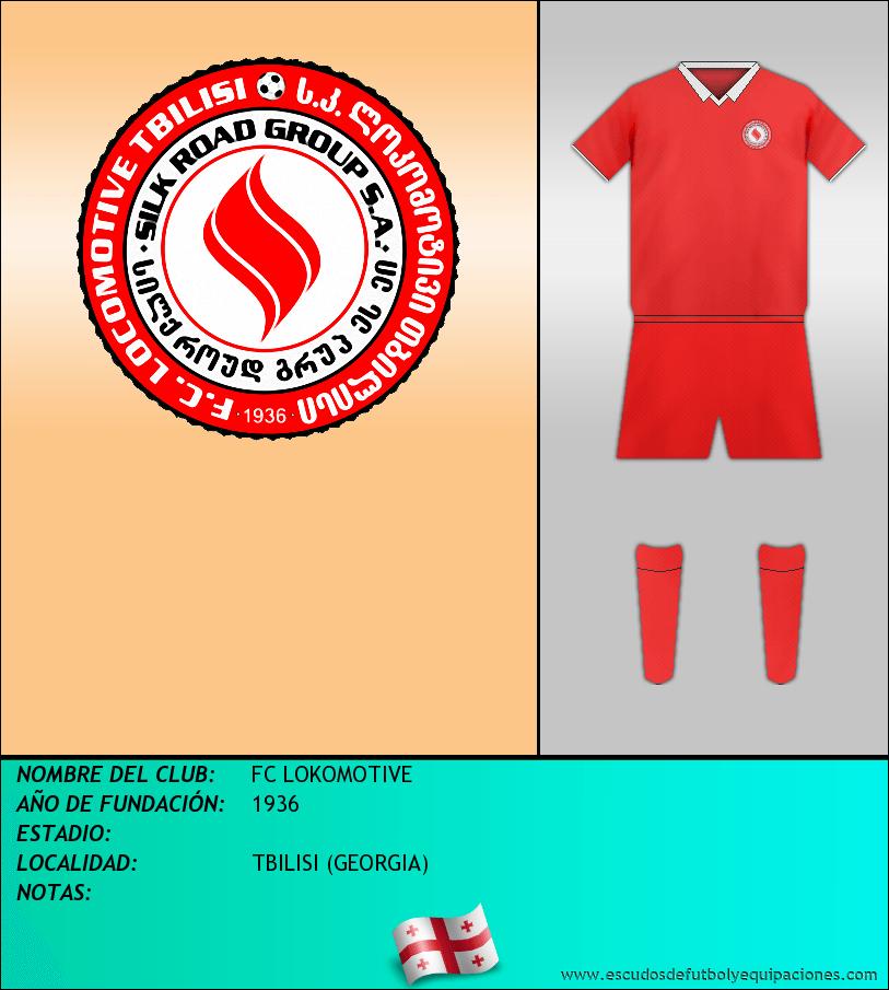Escudo de FC LOKOMOTIVE