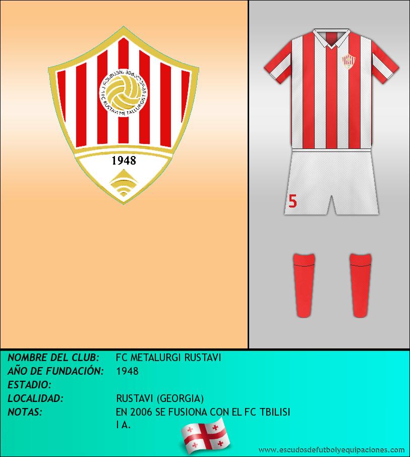 Escudo de FC METALURGI RUSTAVI