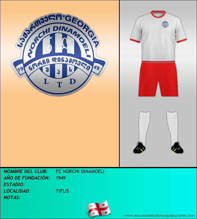 Escudo de FC NORCHI DINAMOELI