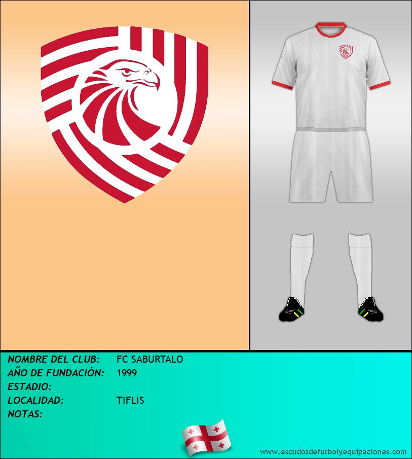 Escudo de FC SABURTALO