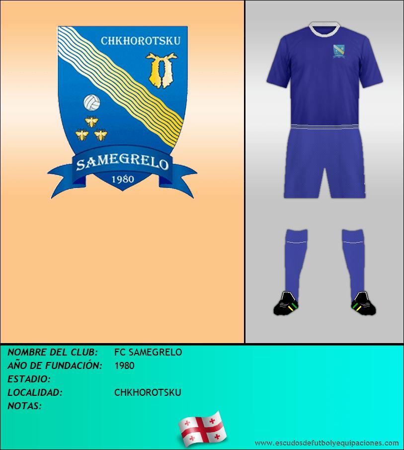 Escudo de FC SAMEGRELO
