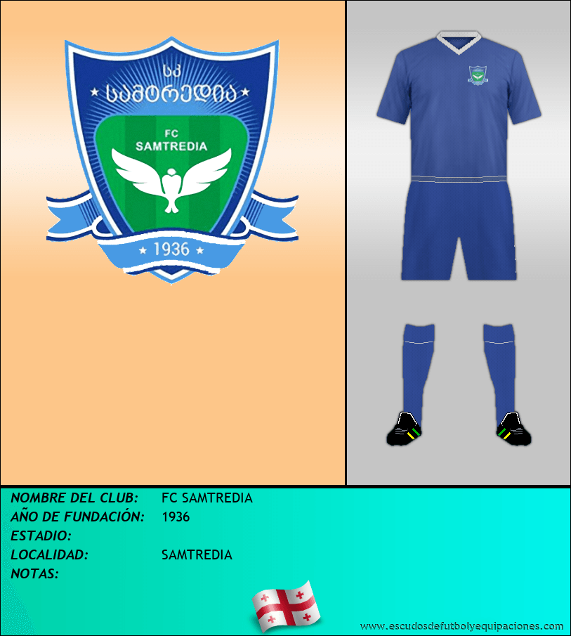 Escudo de FC SAMTREDIA