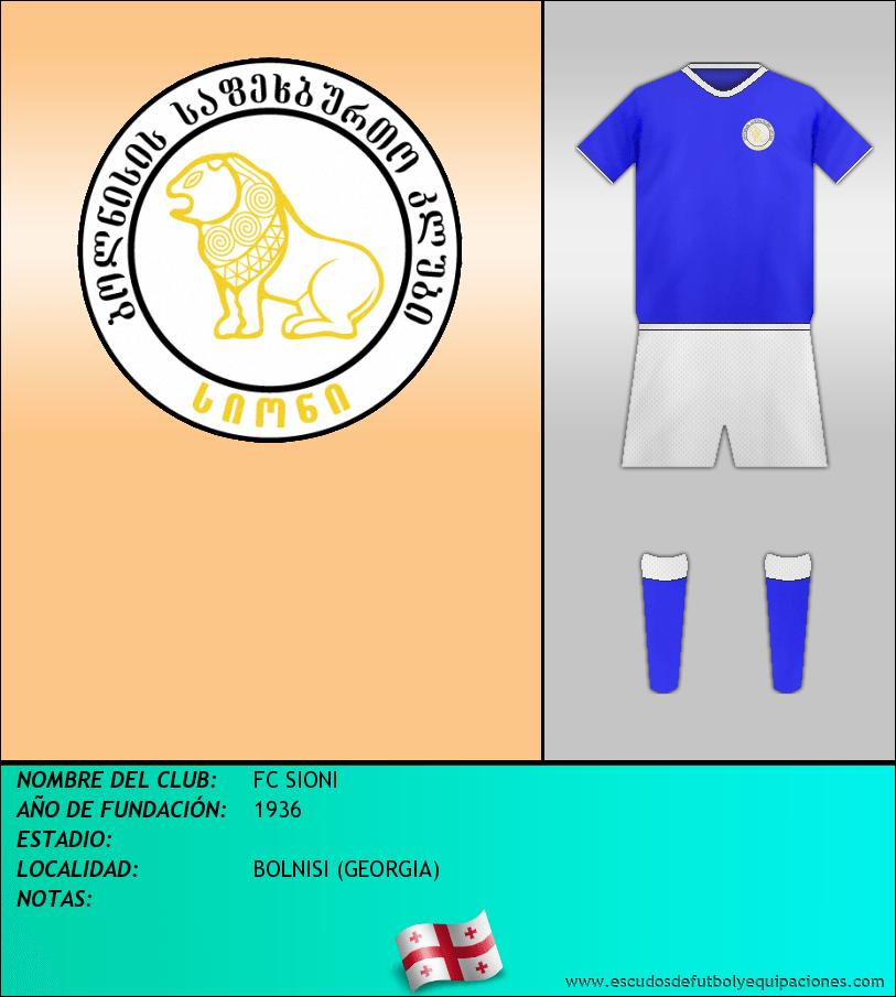 Escudo de FC SIONI