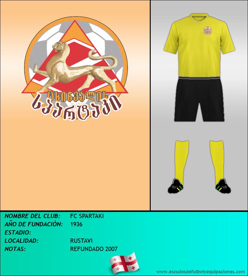 Escudo de FC SPARTAKI