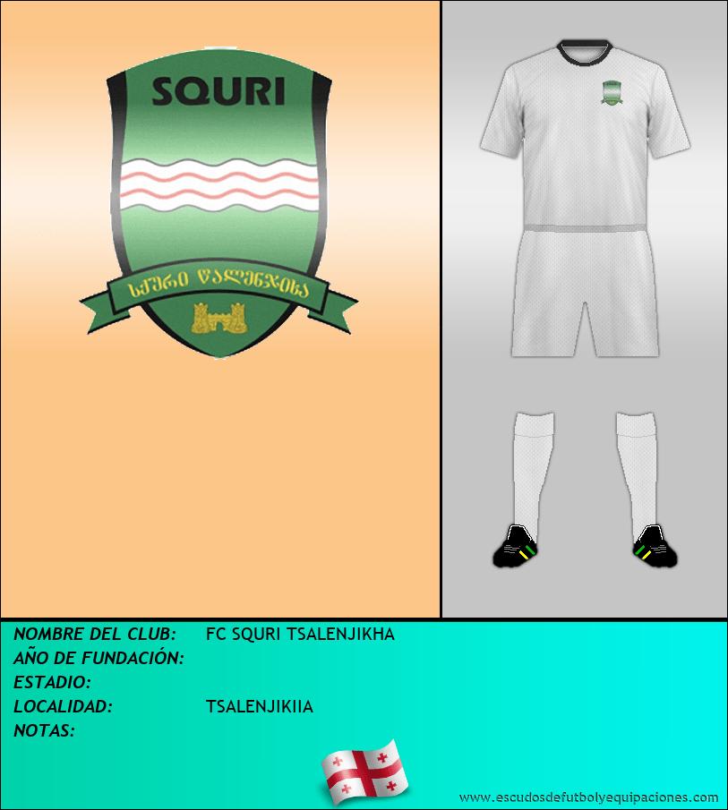Escudo de FC SQURI TSALENJIKHA