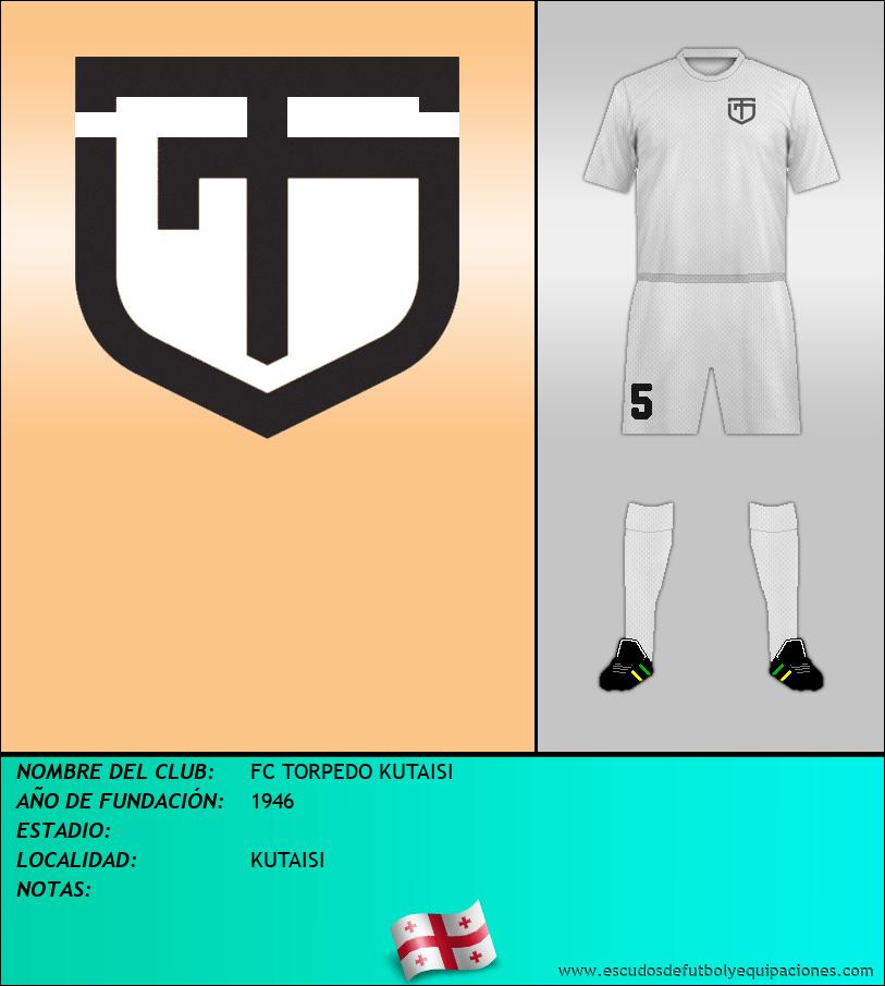 Escudo de FC TORPEDO KUTAISI