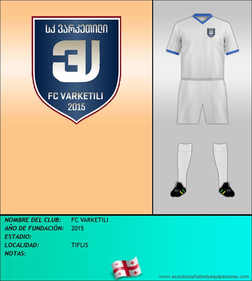Escudo de FC VARKETILI