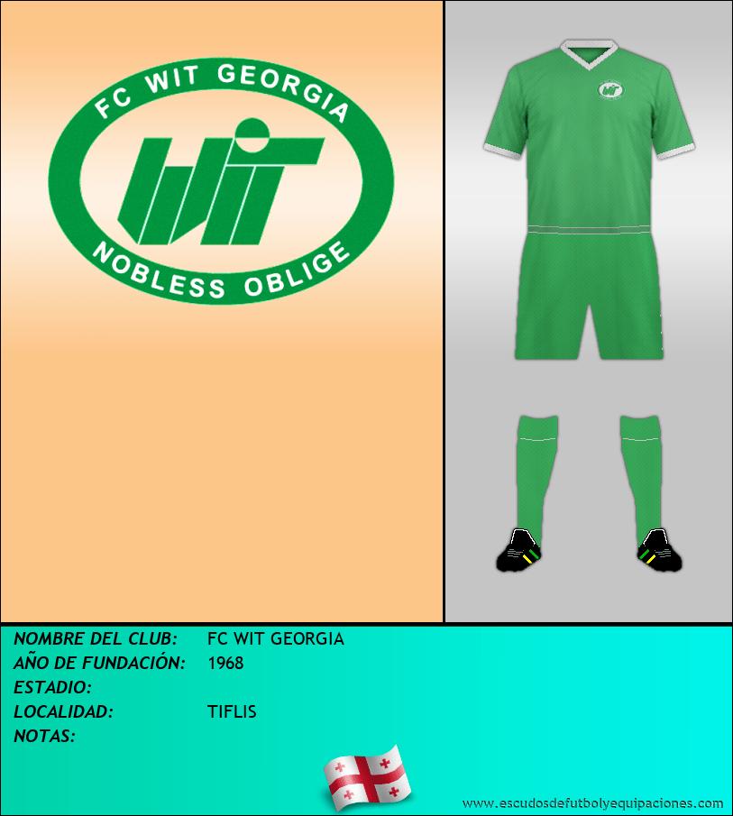 Escudo de FC WIT GEORGIA