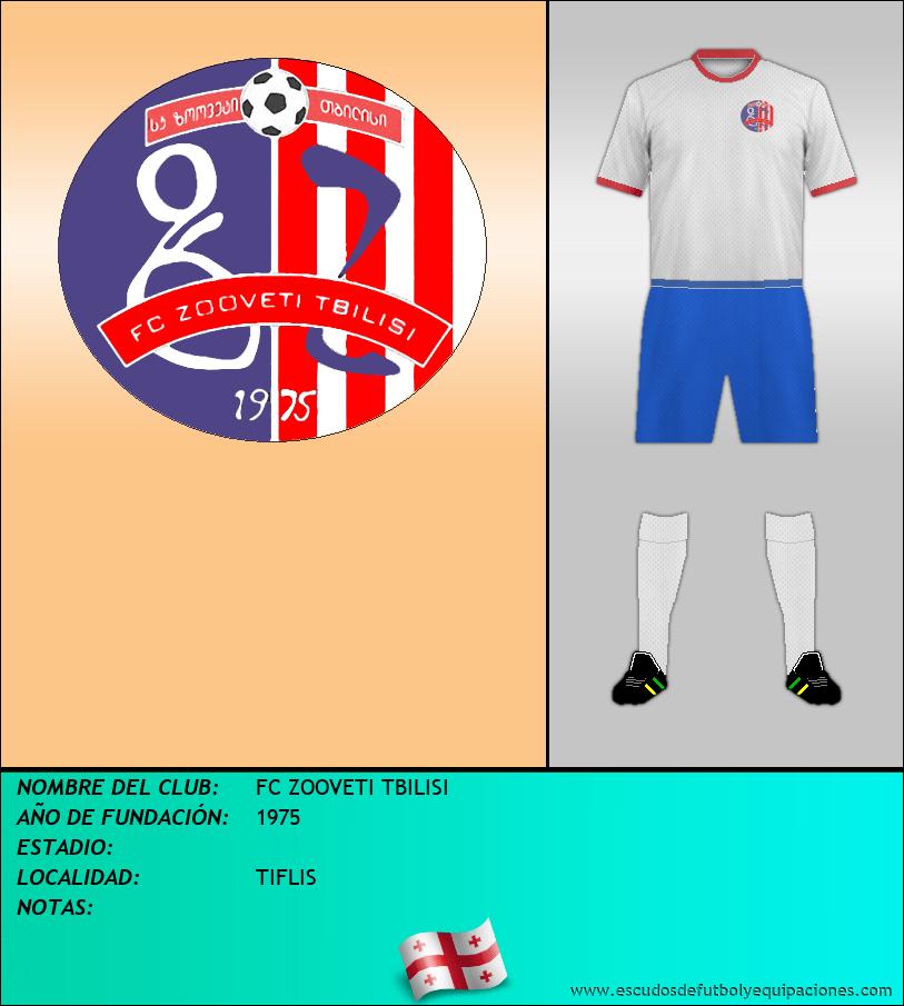 Escudo de FC ZOOVETI TBILISI